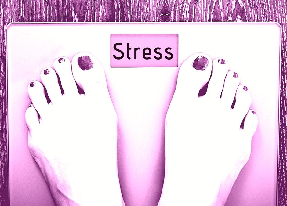 Stress mit der Waage