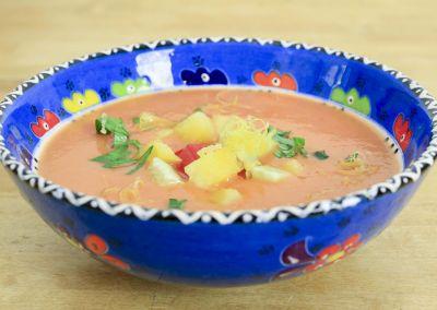 Rezept für Melonen-Gazpacho aus Südspanien