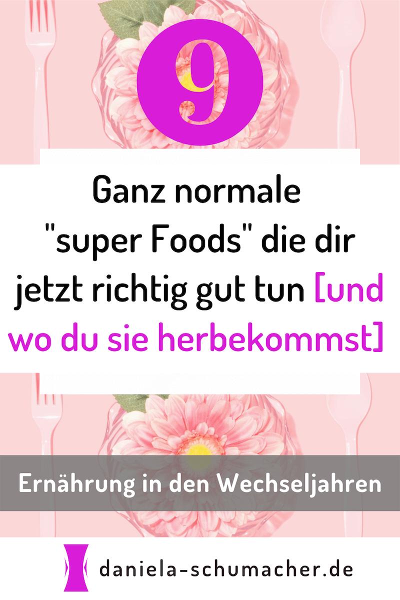 """Ernährung in den Wechseljahren: 9 völlig normale """"super ..."""